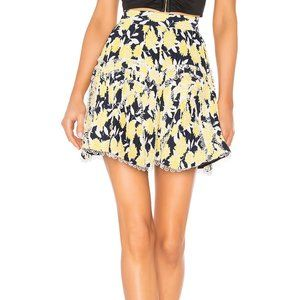 NWT C/MEO Collective Enlight Skirt Marigold Floral